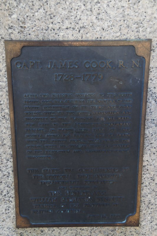 Captain Cook plaque