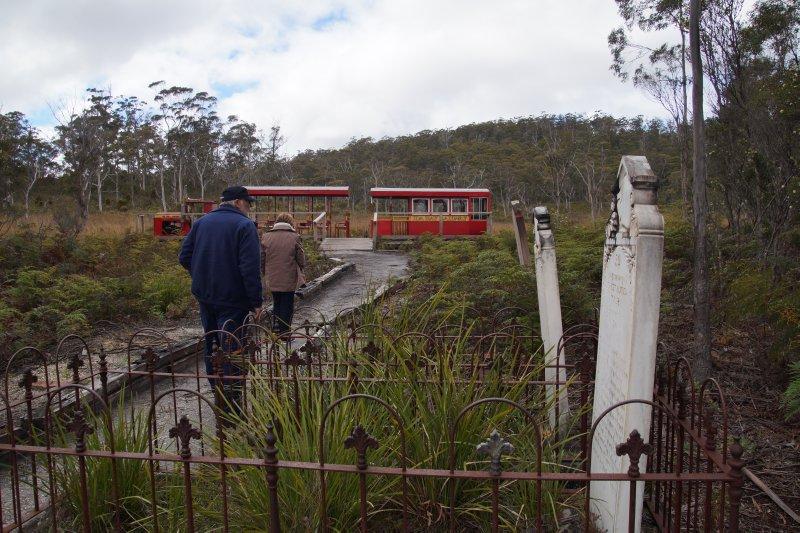 Cemetery at Ida Bay Junction