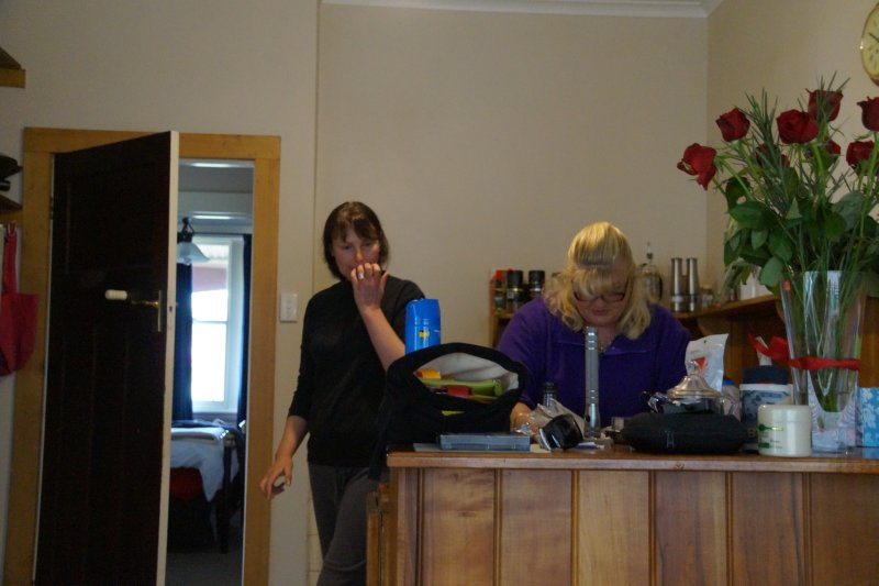 Colleen at home in Paul's kitchen in Launceston (8)