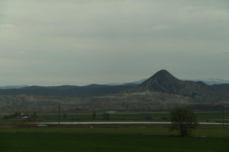 Driving south of Salt Lake City