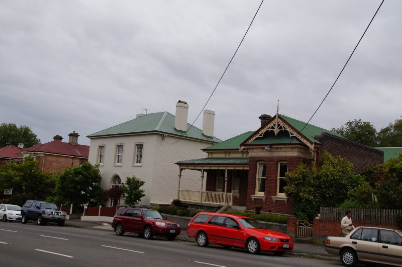 Early 1800s St John Street, Launceston