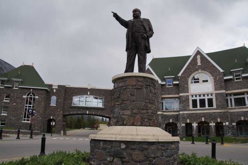 Fairmont Bannf Springs Hotel - president of canadian pacific railways Sir William Cornelius Van Horne