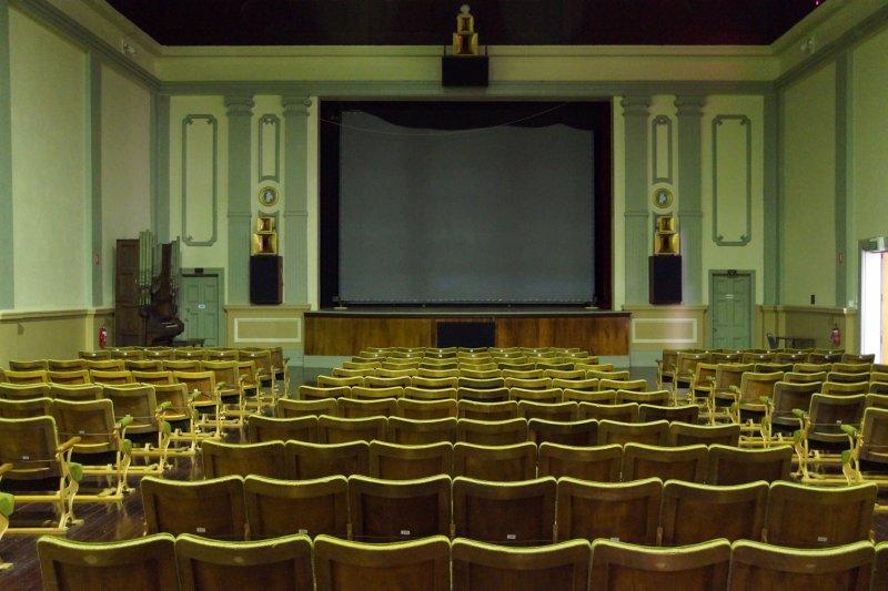 Gaiety Theatre near Zeehan Pioneers Museum