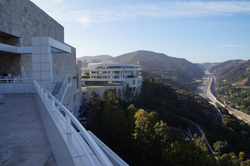 Getty Centre  view to  east 2
