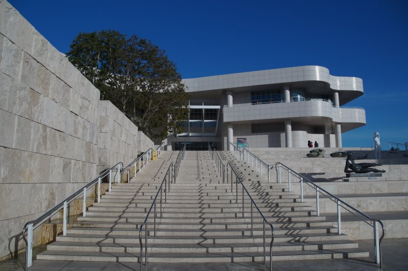 Getty Center designed by Richard Meier