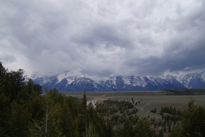 Grand Tetons from Snake River Overlook