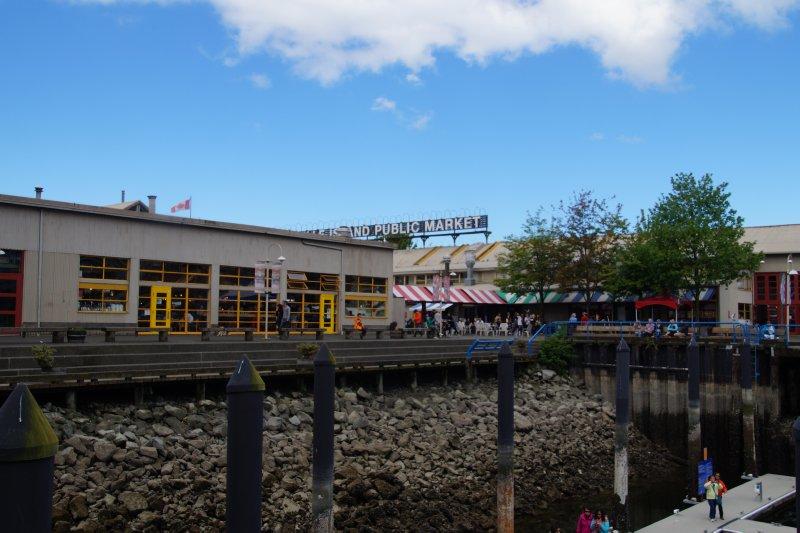 Granville Island Markets False Creek