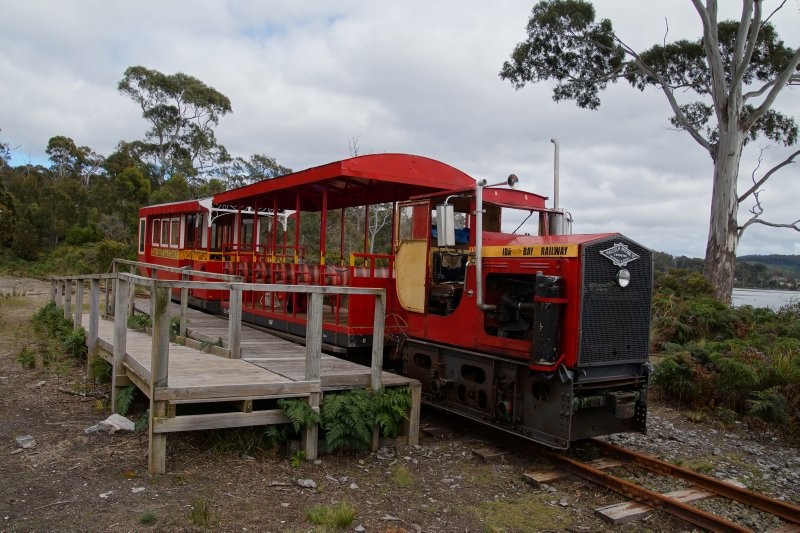 Ida Bay train terminus