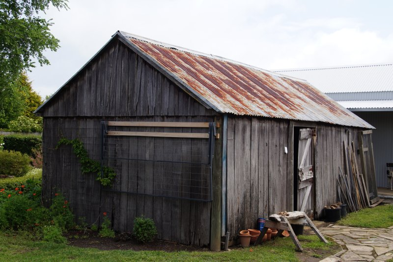 old shed at Oatlands