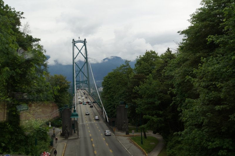 Lion's Gate Suspension Bridge to North Vancouver