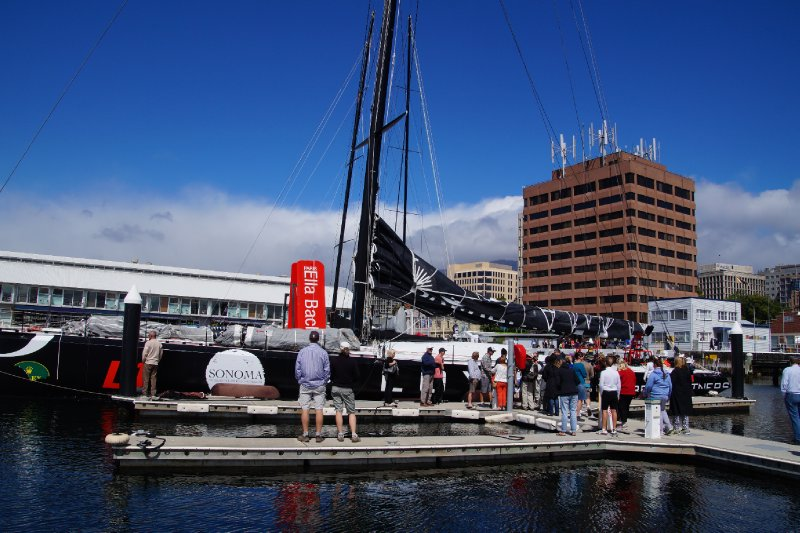 Loyal, second in line honours of Sydney to Hobart Yacht race