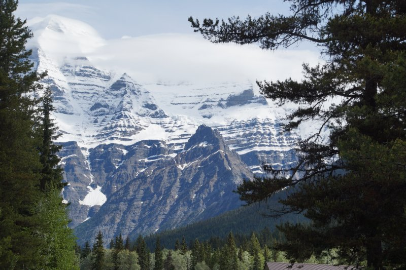 Mount Robson - highest mountain in BC 5