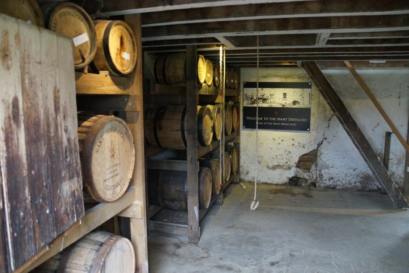 Nant Distillery - property settled 1821