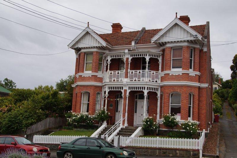Old terrace houses in St John Street