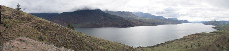 Panorama - Savona - Kamloops Lake