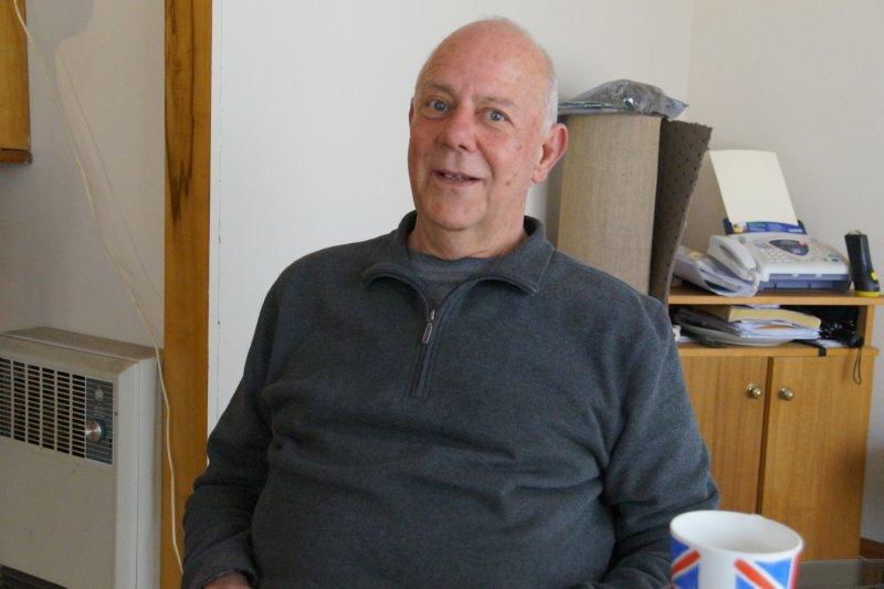 Paul at home in Launceston
