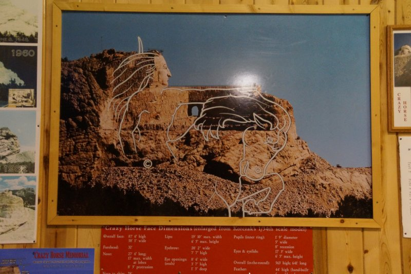 Plans for Crazy Horse Monument