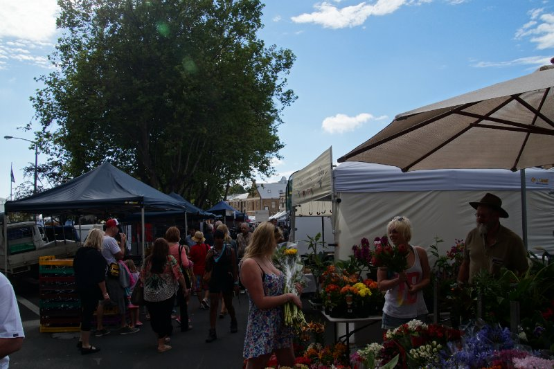 Saturday Salamanca Market, Hobart