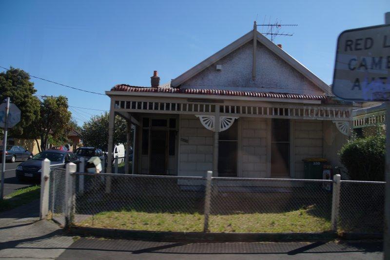 Street scene Footscray, Melbourne