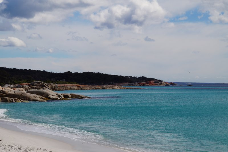 Swimcart Beach, Binalong Bay
