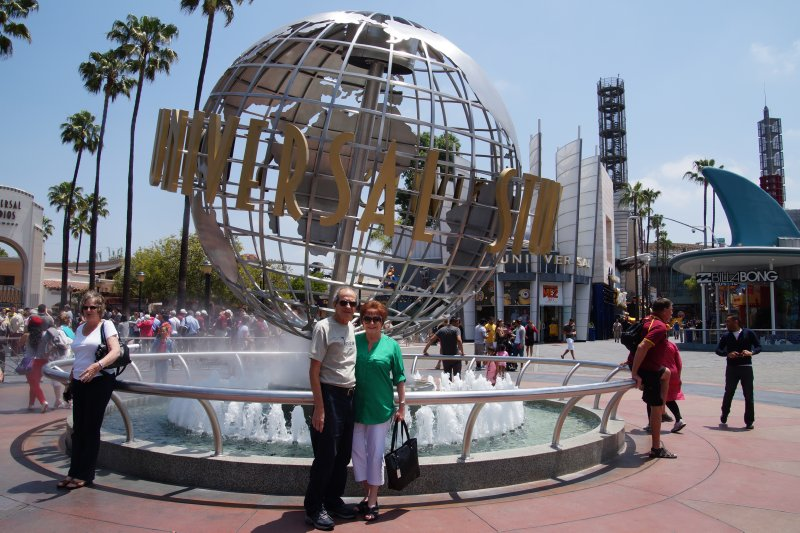 Universal Studios, LA- Phil and Julie