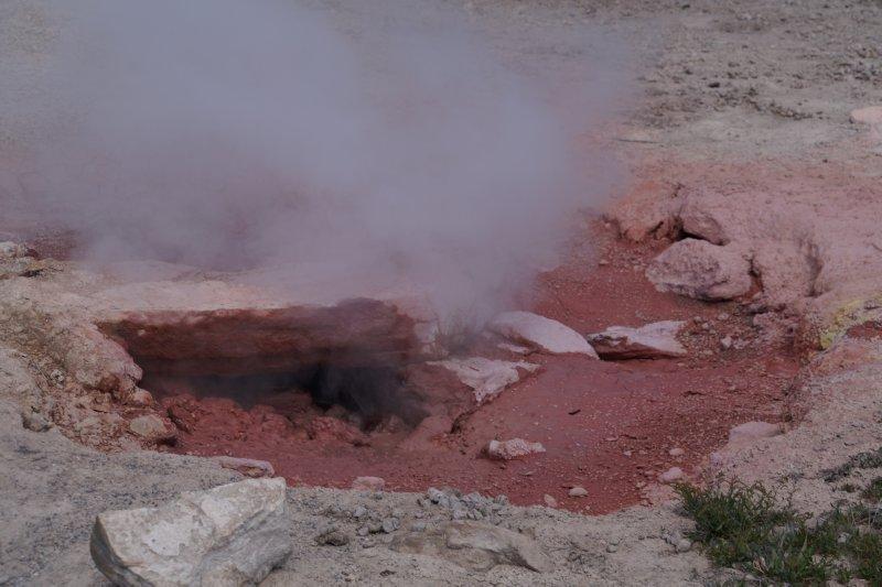 Upper Geyser Basin - Fumarole 2