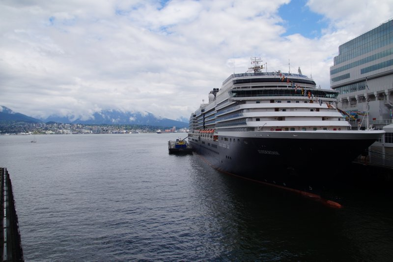 View from cruise ship terminal, Vancouver