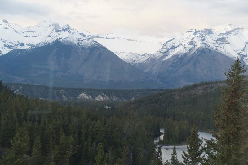 View from the Conservatory at The Banff Springs Hotel 5