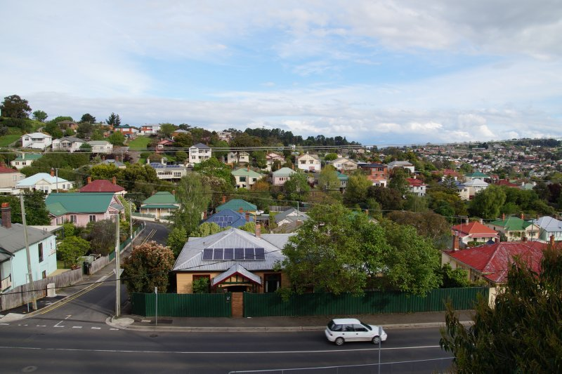 View of Launceston from Paul's house (2)