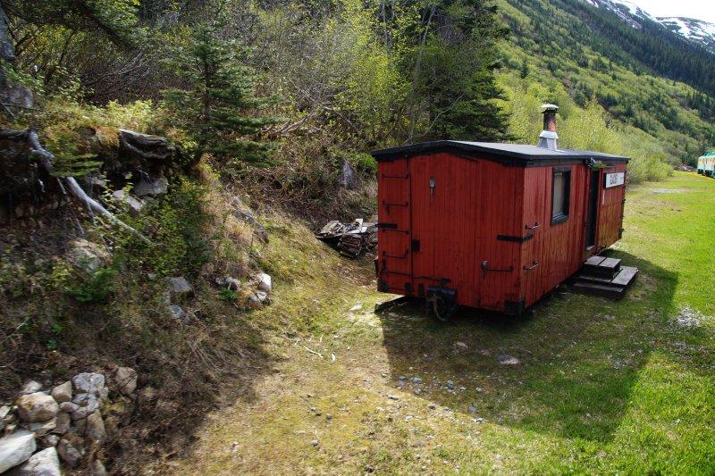 Views from White Pass-Yukon Rail to Skagway
