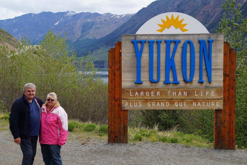 Yukon ad BC Border