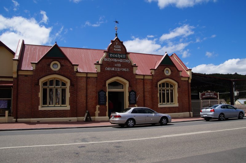 Zeehan School of Mines and Mettalurgy - 1894-1930