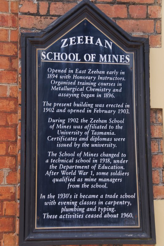 Zeehan School of Mines