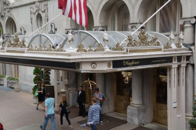 The Mayflower Hotel has  a bar called Edgars in memory of J Edgar Hoover who knew there was such a thing as a free lunch for close on 40 years
