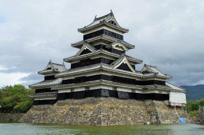 Le château de Matsumoto (Matsumoto-Jo)