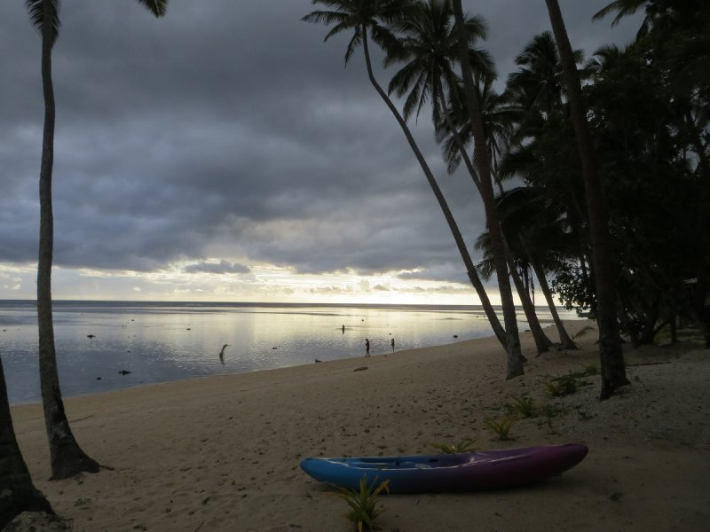 Vue de l'hôtel à Coral Coast
