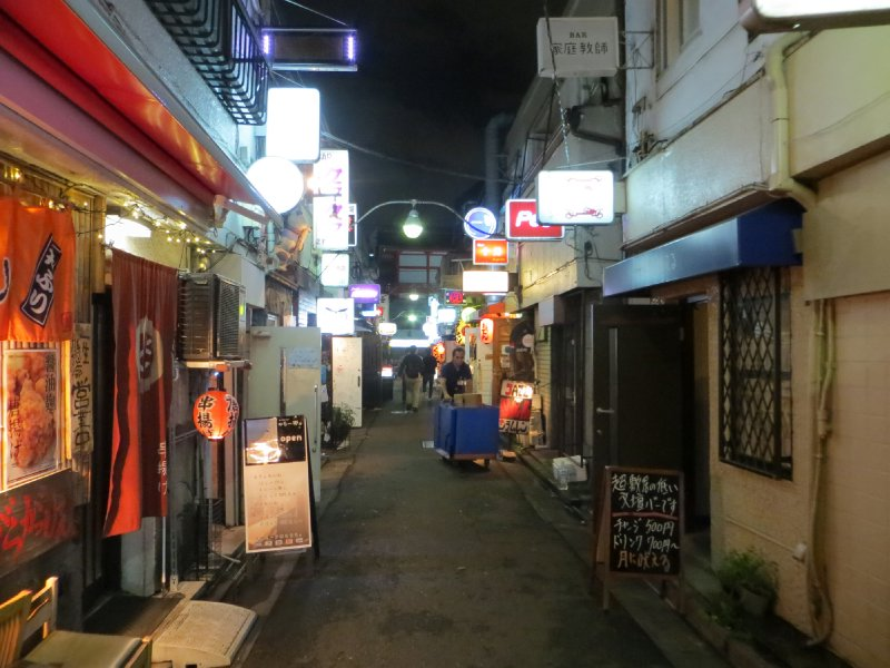 Les bars de Golden Gai