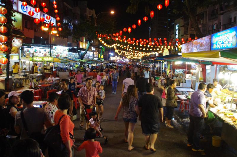 Le quartier chinois de Bukit Bintang