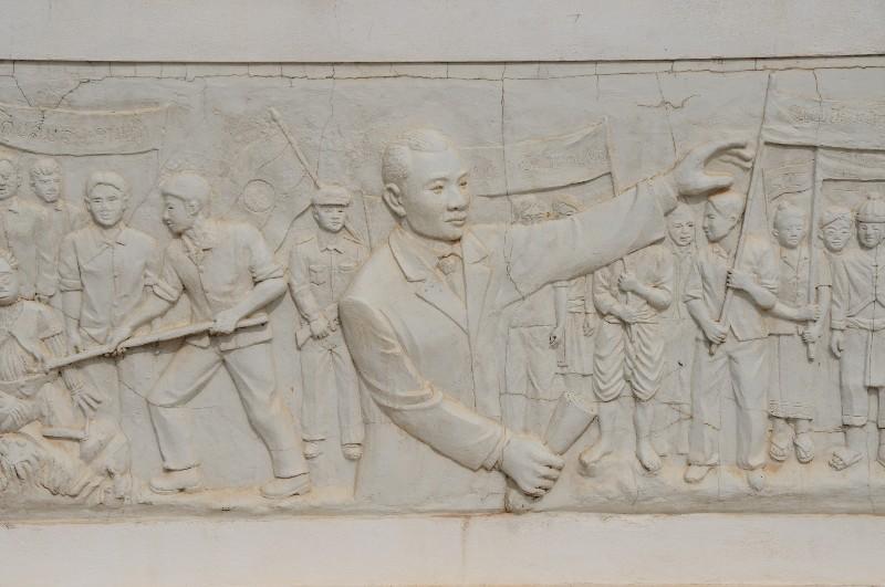 Monument de la révolution à Vientiane
