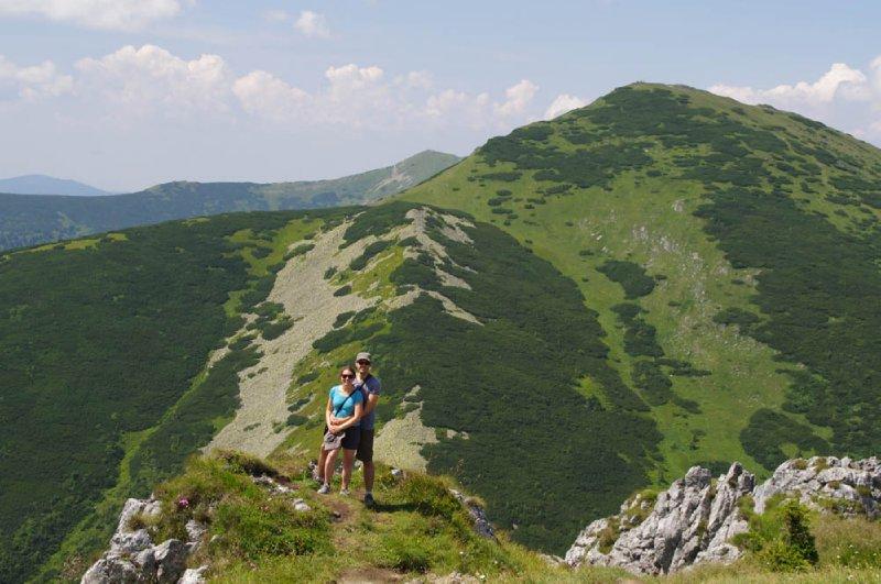 Station de Chleb dans les basses Tatras