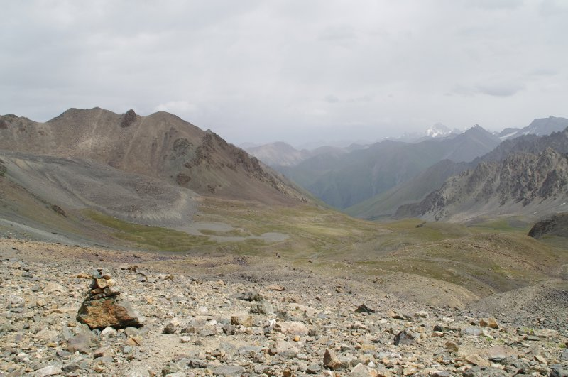 Vers la vallée d'Arashan : enfin du plat !