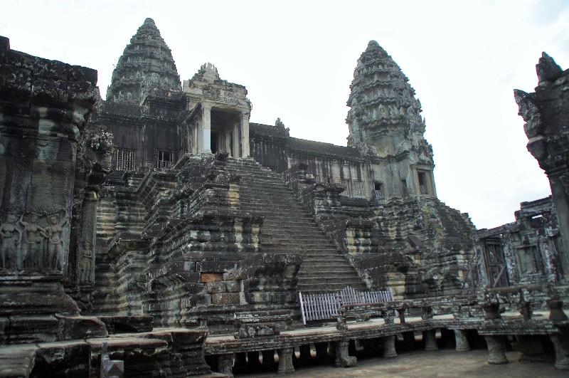 Le Temple Angkor Wat à Angkor au Cambodge