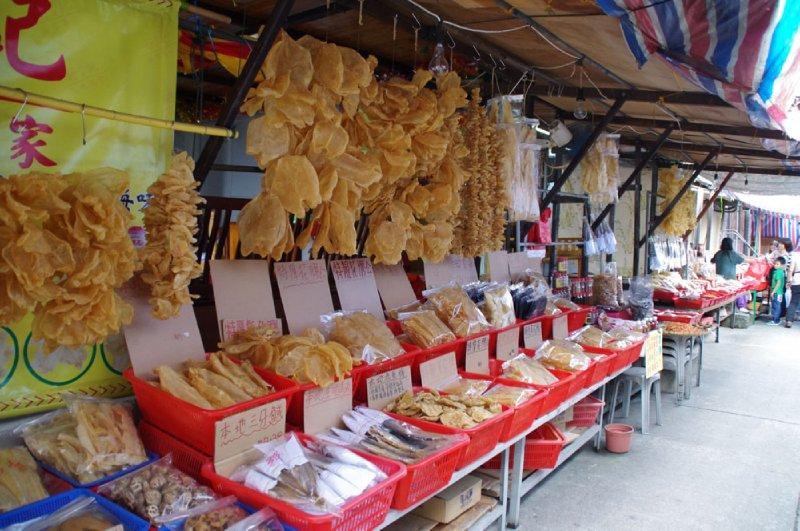 Le Village de Tai O, sur l'île de Lantau à Hong-Kong