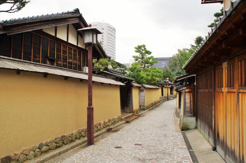 Le quartier des Samouraïs (Nagamachi)