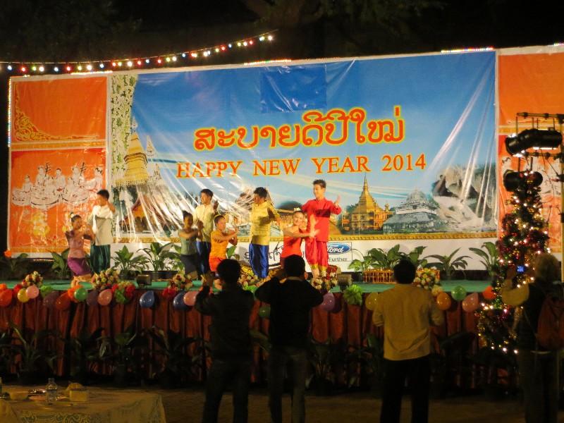 Nouvel an à Luang Prabang