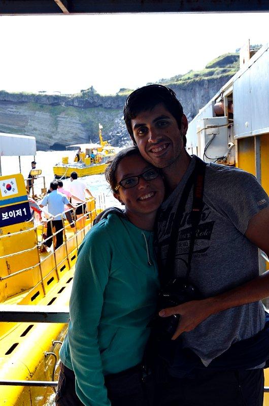 Sous-marin à Jeju
