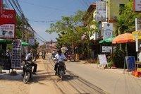 Rue à Siem Reap