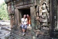 Temple Banteay Kdei à Angkor au Cambodge