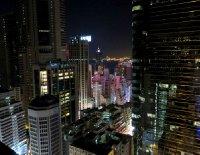 L'île de Hong-Kong vue d'en haut
