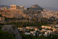 Antoher view of Acropolis and Lycabettus Hill